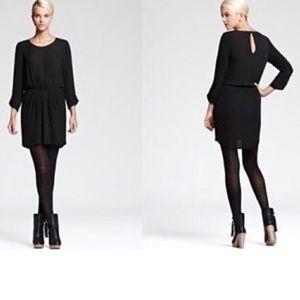 Joie Black Silk Dress